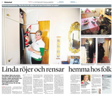Reportage Hallandsposten december 2014