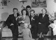 Familjen Ring fr v Hilmer, Ellen, Bosse, Erik Jonsson (färjkarl), farmor Ring, längst fram Karl-Gunnar Ring