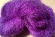 Colinette Mohair färg: Purple Passion 171