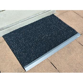 60x91 cm mörkgrå med kantprofil
