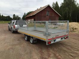 Eduard Multisläp 3000kg - 4x2 3000kg 63cm