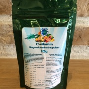 C - vitamin magnesiumaskorbat pulver
