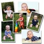 Blandade barnbilder