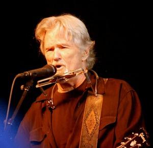 Kris Kristofferson på Trädgår'n i Göteborg 2010.