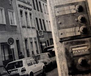 Hos Wallraff i Köln 1985.
