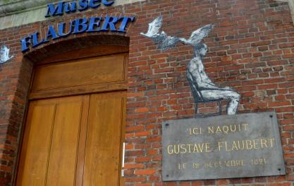 Flauberts födelsehem i Rouen