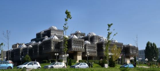 Biblioteket i Prishtina.