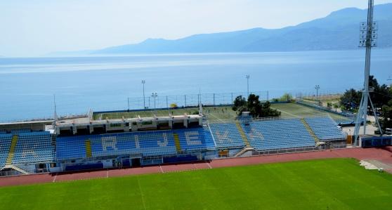 Vackraste arenan? Rijeka, Kroatien.