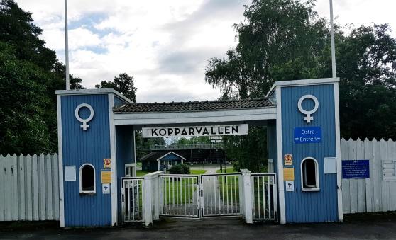 Kopparvallen i Åtvidaberg.