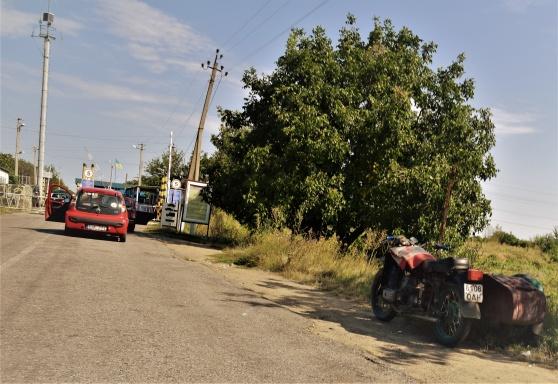 Sigge på gränsen till Ukraina.