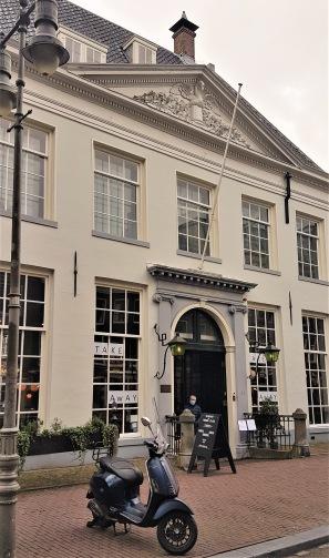 Holländska Västindiska kompaniets hus i Amsterdam.