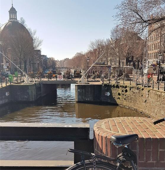 Dagen efter bilden togs läste jag om Peter Artedis drunkning. Sannolikt just här vid Haarlemmersluis.