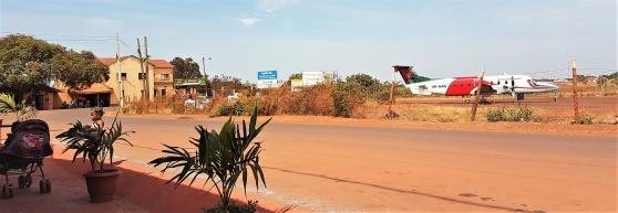 Flygfältet i Lethem som ockuperades några timmar 1969 då Essequibo Free State blommade upp och försvann.