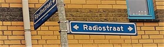 Radiogatan i Hilversum.