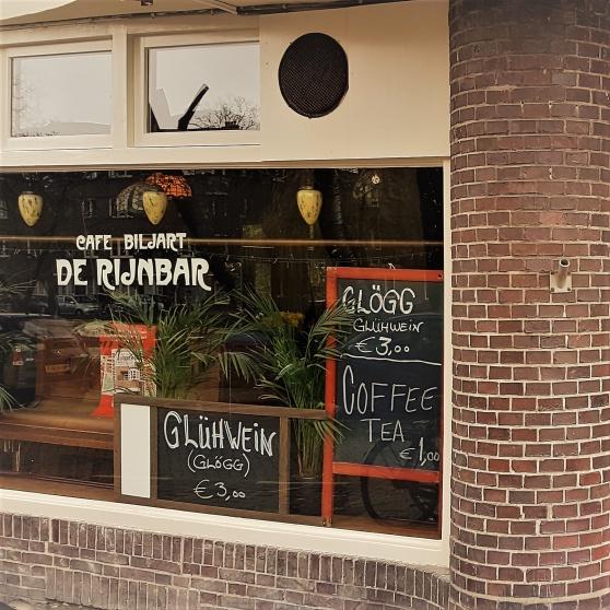 Jodå - det är riktig glögg som serveras på Rijnbar.