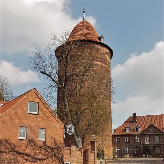 I Valdemarstornet satt Valdemar Sejr fången.