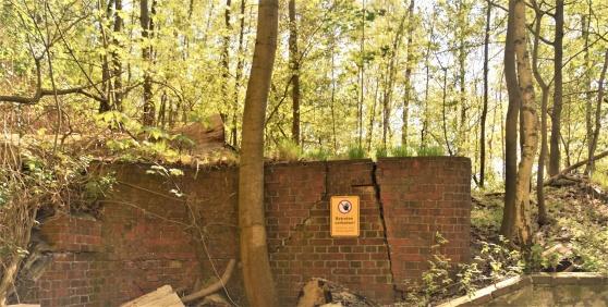 Bilden från Nobels Krümmelfabrik tog jag för några år sedan då jag strosade runt i skogen.