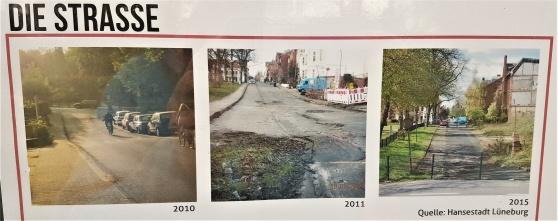 Förändringarna på Frommestrasse under bara fem år...