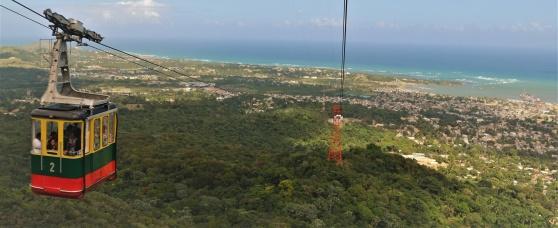 Karibiens längsta linbana finns i Puerto Plata i Dominikanska Republiken.