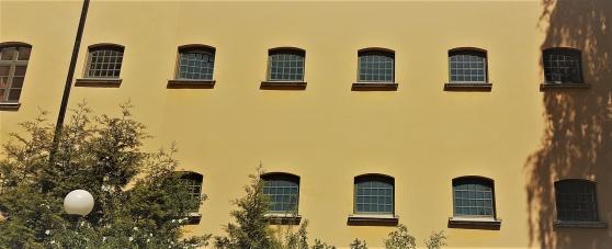 En fasans fasad. Långholmens fängelse.