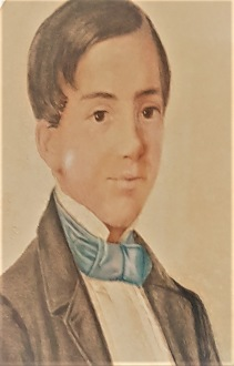 Adalrik Hallberg som ung förförare.