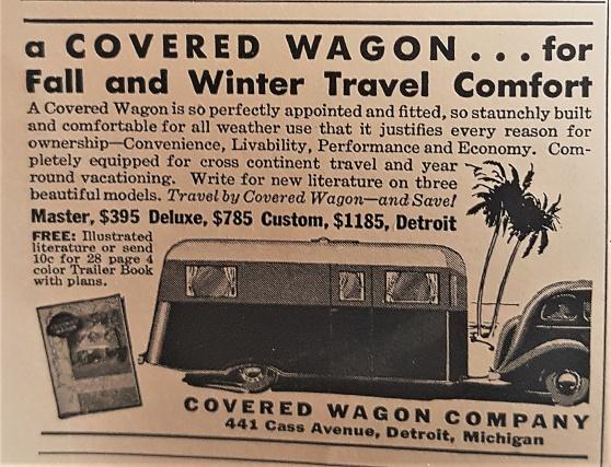 Annonsen hämtad ur National Geographics 1935.