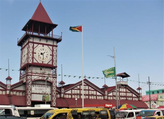 Stabroek market i Georgetown, Guyana