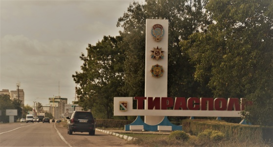 Tiraspol - huvudstad i Transnistrien. Men finns det?