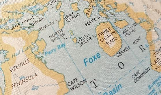 Jens Munk Island, vid Hudson Bay. Där gick det åt helvete för Munk.