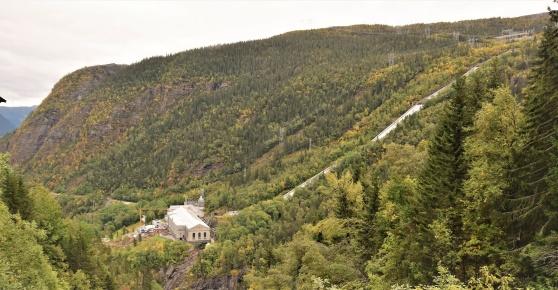 Tungvattenfabriken i Vemork, Rjukan.