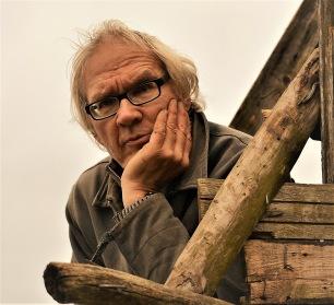 Lars Vilks, vid sitt Nimis, augusti 2013.