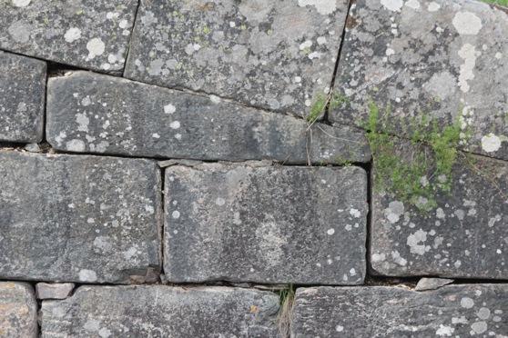 En detalj från en sluss i Göta Kanal.