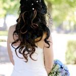 Brudklänning bakifrån