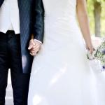 Brudklänning midja