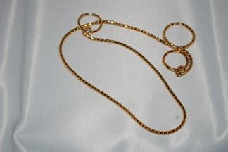 Halsband, snakelänk - Snakehalsband