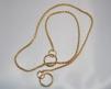 Halsband, snakelänk - Halsband, snake mäss