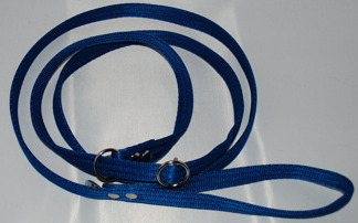 Retrieverkoppel , blått - Retrieverkoppel 180 cm