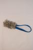 Igloo fårskinn - Igloo fårskinn vit blått band