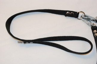 Tvillingkoppel valk - Handtag 30 cm svart