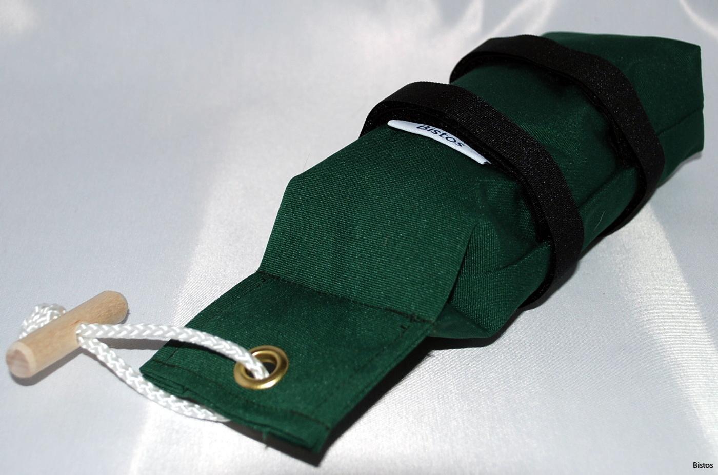 Dummies kardborr grön markis