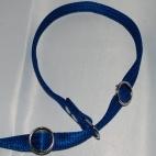 Retrieverkoppel ställbart, blått