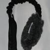 Fårskinnsleksak expander 10x6 m PIP - Fårskinnsleksak expander 10x6 grå pip svart handtag