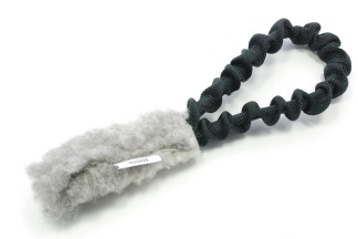 Träningsleksak INCA expanderhandtag - INCA fårskinn svart