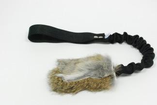 Träningsleksak Nova får expander - Träningsleksak Nova fårskinn, svart handtag