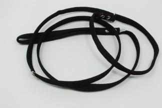 Retrieverkoppel , svart - Retrieverkoppel 180 cm