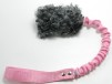 Fårskinnsleksak expander 10x6 - Fårskinnsleksak expander 10x6 grå rosa handtag