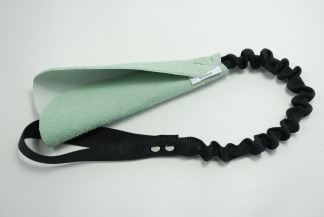 Kampskinn med expander - Kampskinn mint/svart