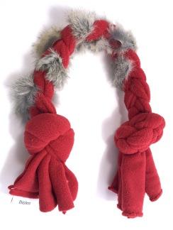 Kampfläta kanin - Kampfläta kanin röd