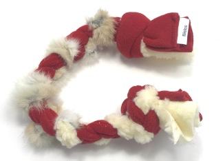 Kampfläta kanin - Kampfläta kanin röd/vit