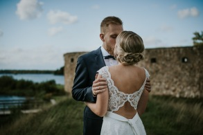 Bröllopsfotografering i Växjö med Sandra & Fredrik